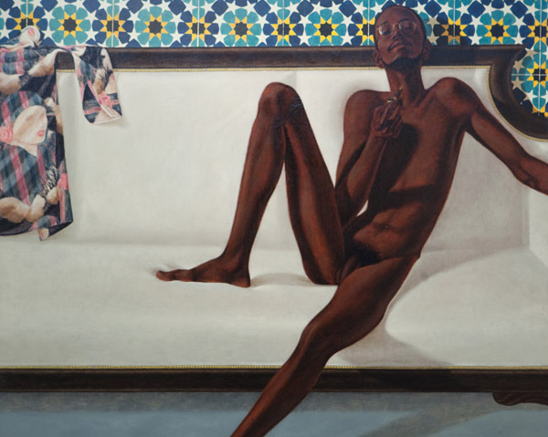 Barkley L. Hendricks, Family Jules: NNN (No Naked Niggahs), 1974